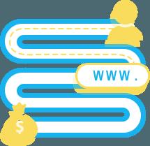 الهدف من انشاء موقعك قد لا يكون الربح المادي مباشرة ولكن ربما يكون هدف مرحلي بان يعرف العميل بالعلامة التجارية لمشروعك مثلاً.