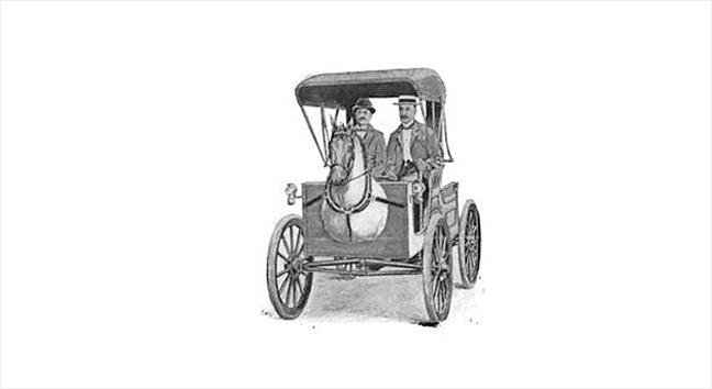 عربة سميث Horsey Horseless